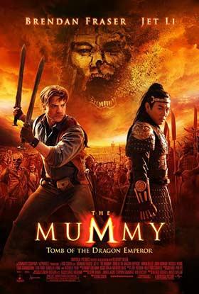 دانلود فیلم The Mummy Tomb of the Dragon Emperor 2008 زیرنویس فارسی چسبیده