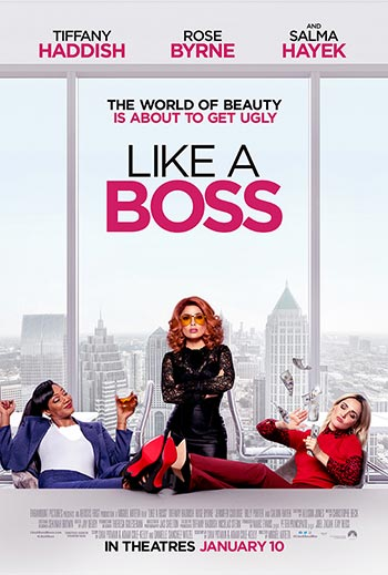 دانلود فیلم زیرنویس فارسی چسبیده مثل یک رئیس Like a Boss 2020