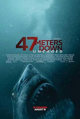 دانلود فیلم 47 Meters Down: Uncaged 2019 چهل و هفت متر پائین تر: رها شده از قفس زیرنویس فارسی چسبیده