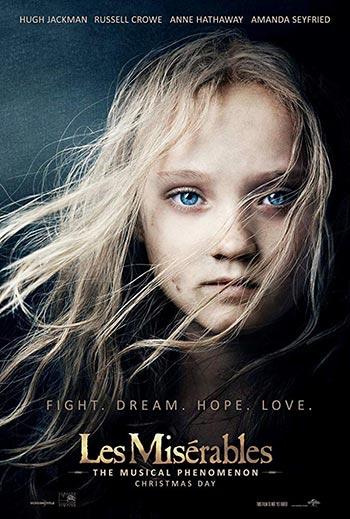 دانلود فیلم زیرنویس فارسی چسبیده Les Miserables 2012