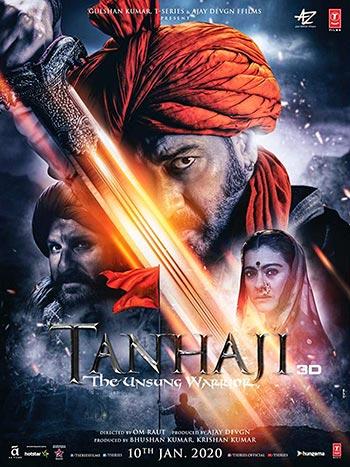 دانلود فیلم زیرنویس فارسی تانهاجی جنگجوی ستایش نشده Tanhaji The Unsung Warrior 2020 دوبله فارسی