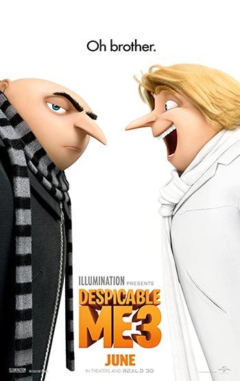 دانلود انیمیشن دوبله من نفرت انگیز 3 Despicable Me 3 2017