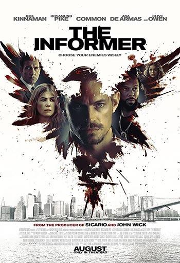 دانلود فیلم زیرنویس فارسی خبرچین The Informer 2019