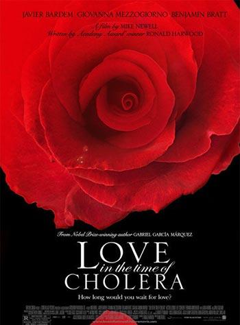 دانلود فیلم زیرنویس فارسی عشق سال های وبا Love in the Time of Cholera 2007