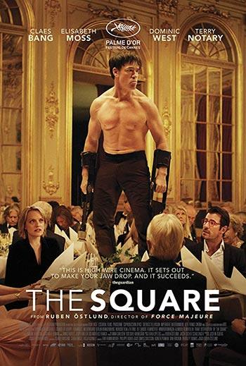 دانلود فیلم زیرنویس فارسی مربع The Square 2017