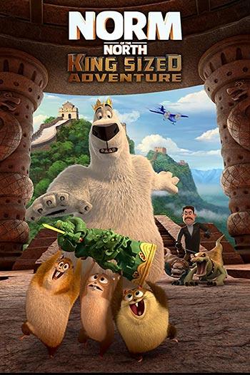 دانلود انیمیشن زیرنویس فارسی نورم از شمال: ماجراجویی پادشاه Norm of the North: King Sized Adventure