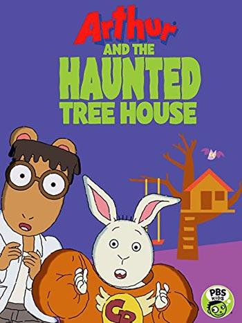 دانلود انیمیشن آرتور و خانه درختی خالی Arthur and the Haunted Tree House 2017