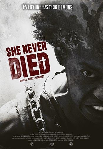 دانلود فیلم زیرنویس فارسی چسبیده She Never Died 2019