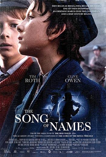دانلود فیلم زیرنویس فارسی چسبیده آهنگ نام ها The Song of Names 2019