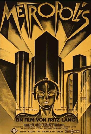 دانلود فیلم زیرنویس فارسی چسبیده متروپلیس Metropolis 1927