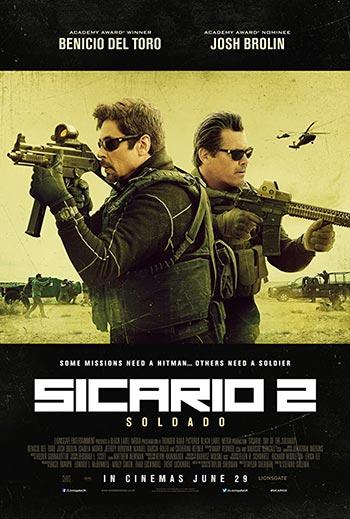 دانلود فیلم دوبله فارسی سیکاریو 2 روز سرباز Sicario Day of the Soldado 2018 زیرنویس فارسی چسبیده