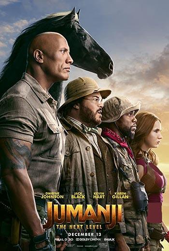 دانلود فیلم Jumanji The Next Level 2019 زیرنویس فارسی چسبیده + دوبله