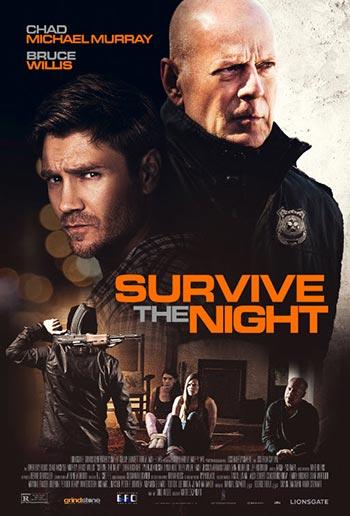 دانلود فیلم زیرنویس فارسی چسبیده زنده ماندن در شب Survive the Night 2020