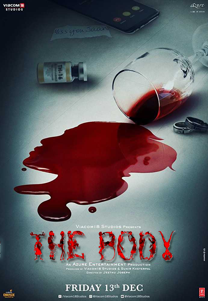 دانلود فیلم زیرنویس فارسی جسد The Body 2019