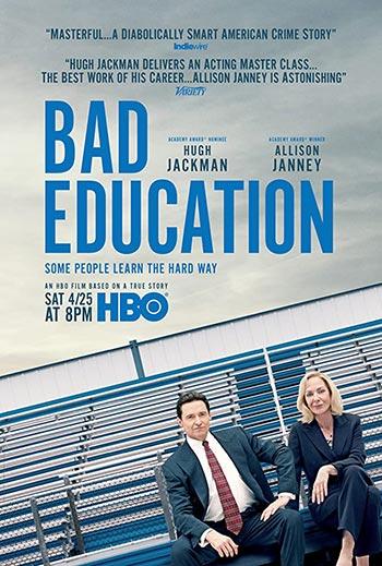 دانلود فیلم زیرنویس فارسی چسبیده آموزش بد Bad Education 2019