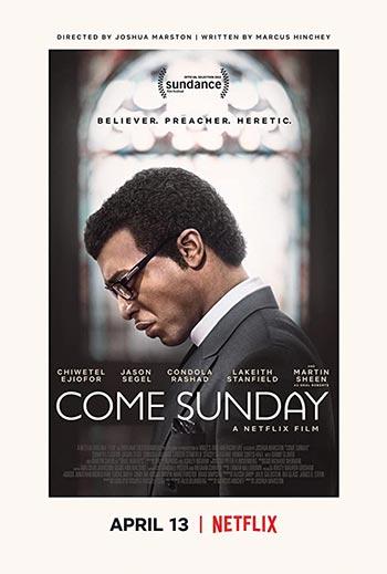 دانلود فیلم زیرنویس فارسی چسبیده یکشنبه بیا Come Sunday 2018
