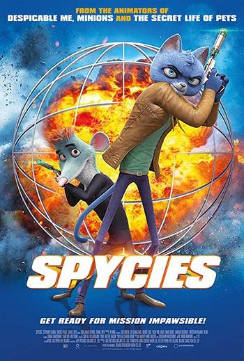 دانلود انیمیشن زیرنویس فارسی چسبیده ماموران مخفی Spycies 2019