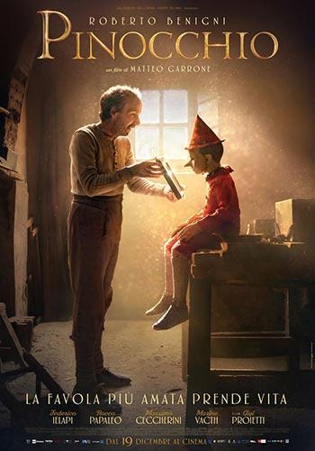 دانلود فیلم زیرنویس فارسی چسبیده پینوکیو Pinocchio 2019