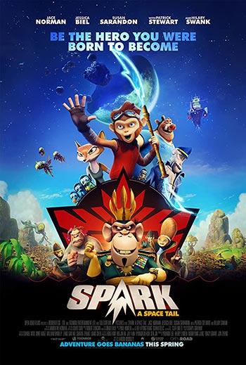 دانلود انیمیشن زیرنویس فارسی چسبیده اسپارک: افسانه فضایی Spark A Space Tail 2016