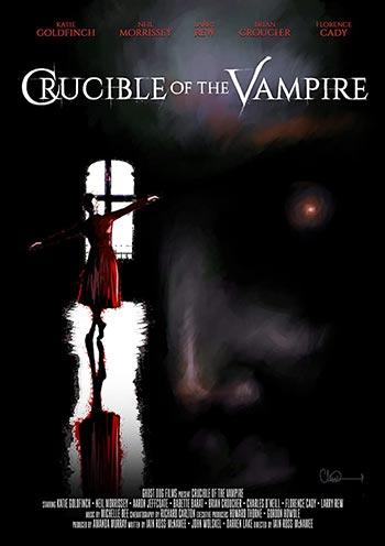 دانلود فیلم زیرنویس فارسی چسبیده پاتیل خون آشام Crucible Of The Vampire 2019