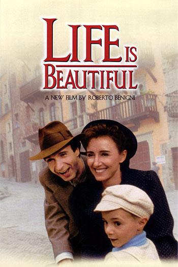 دانلود فیلم زیرنویس فارسی چسبیده زندگی زیباست Life Is Beautiful 1997