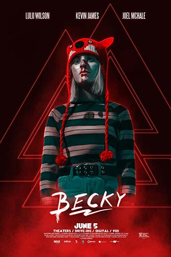 دانلود فیلم زیرنویس فارسی چسبیده بکی Becky 2020 دوبله فارسی