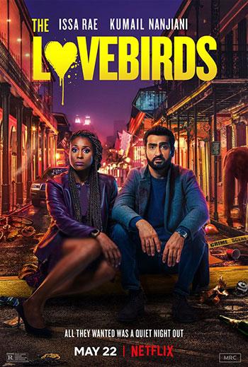 دانلود فیلم زیرنویس فارسی چسبیده مرغ عشقها The Lovebirds 2020