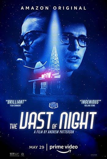 دانلود فیلم زیرنویس فارسی چسبیده گستره شب The Vast of Night 2020