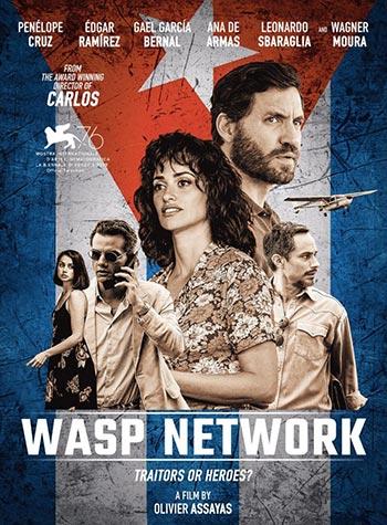 دانلود فیلم زیرنویس فارسی چسبیده شبکه زنبوری Wasp Network 2019