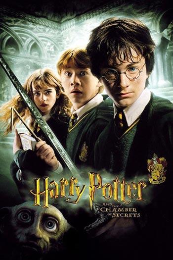 دانلود فیلم زیرنویس فارسی چسبیده هری پاتر و تالار اسرار Harry Potter va Talar e Asrar 2002
