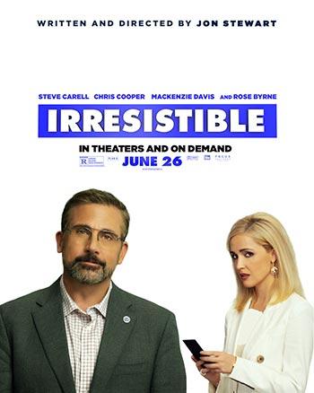 دانلود فیلم زیرنویس فارسی چسبیده مقاومت ناپذیر Irresistible 2020