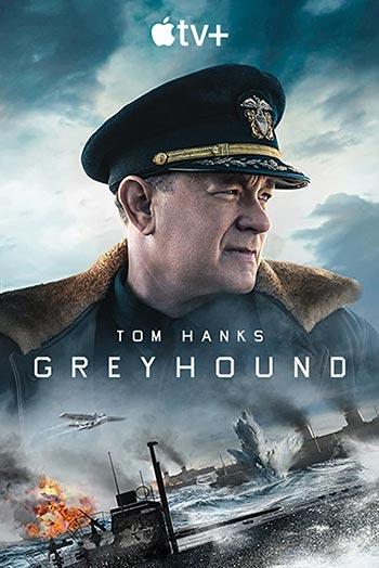 دانلود فیلم زیرنویس فارسی چسبیده سگ شکاری Greyhound 2020