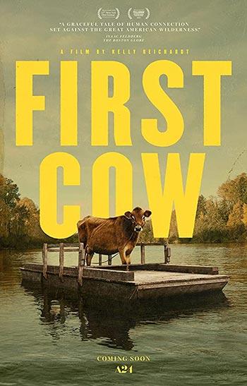 دانلود فیلم زیرنویس فارسی چسبیده اولین گاو First Cow 2019