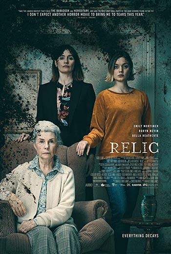 دانلود فیلم زیرنویس فارسی چسبیده یادگار Relic 2020