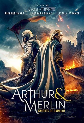دانلود فیلم زیرنویس فارسی چسبیده آرتور و مرلین شوالیه های کملوت Arthur and Merlin Knights of Camelot 2020