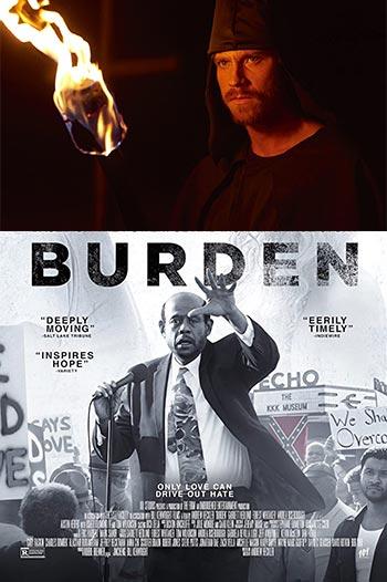 دانلود فیلم زیرنویس فارسی چسبیده بردن Burden 2018