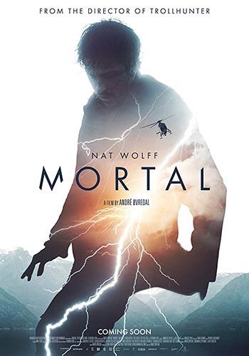 دانلود فیلم زیرنویس فارسی چسبیده فانی Mortal 2020
