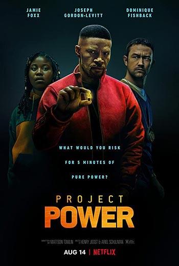 دانلود فیلم با زیرنویس فارسی چسبیده پروژه قدرت Project Power 2020
