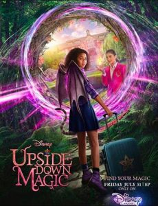 دانلود فیلم زیرنویس فارسی چسبیده جادوی وارونه Upside-Down Magic 2020 دوبله فارسی