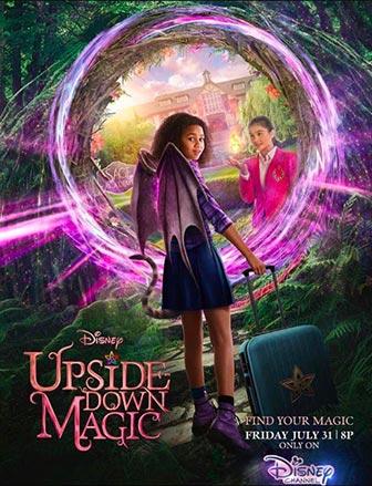 دانلود فیلم زیرنویس فارسی چسبیده جادوی وارونه Upside-Down Magic 2020