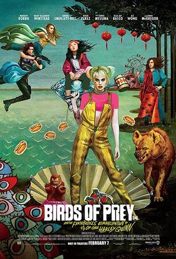 دانلود فیلم زیرنویس فارسی چسبیده پرندگان شکاری: و رهایی خارق العاده از هارلی کوین Birds of Prey: And the Fantabulous Emancipation of One Harley Quinn 2020