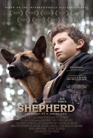دانلود فیلم زیرنویس فارسی چسبیده شفرد: داستان سگ یهودی SHEPHERD: The Story of a Jewish Dog 2019