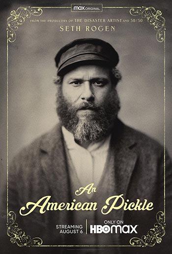 دانلود فیلم زیرنویس فارسی چسبیده خیارشور آمریکایی An American Pickle 2020
