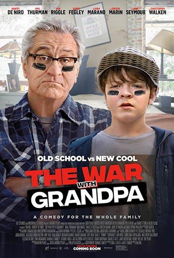 دانلود فیلم زیرنویس فارسی چسبیده جنگ با بابابزرگ The War with Grandpa 2020