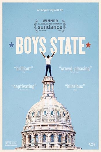 دانلود فیلم زیرنویس فارسی چسبیده دولت پسران Boys State 2020