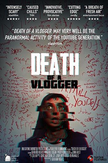 دانلود فیلم زیرنویس فارسی چسبیده مرگ یک ولوگر Death of a Vlogger 2019