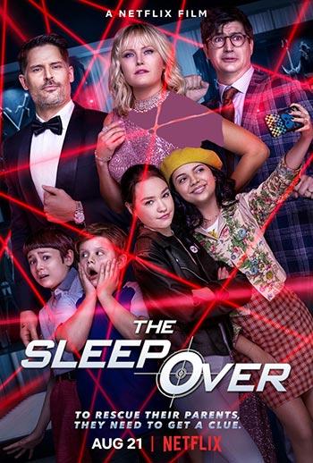 دانلود فیلم دوبله فارسی دور از خانه The Sleepover 2020
