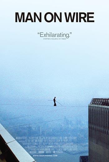دانلود فیلم زیرنویس فارسی چسبیده مردی روی سیم Man on Wire 2008