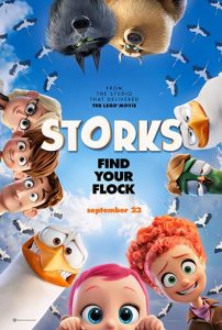 دانلود انیمیشن دوبله فارسی لک لک ها Storks 2016