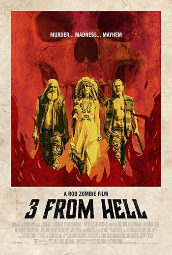 دانلود فیلم زیرنویس فارسی چسبیده سه نفر از جهنم 3 from Hell 2019